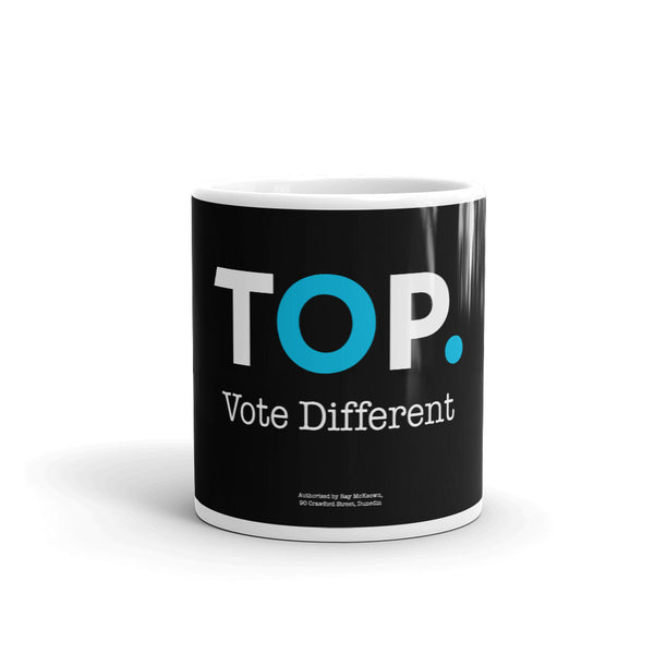 TOP #VOTEDIFFERENT Blue – Mug