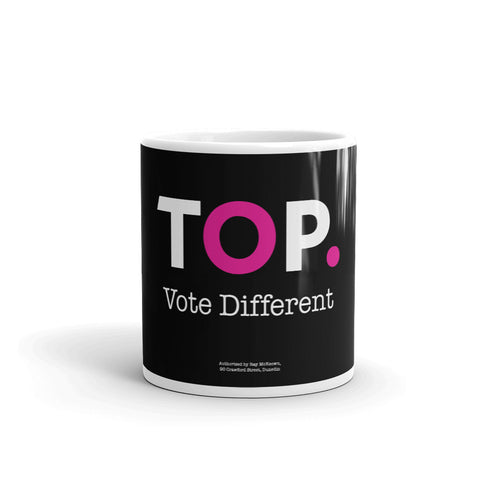 TOP #VOTEDIFFERENT Pink – Mug