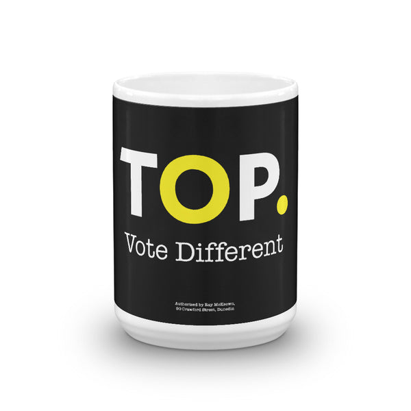 TOP #VOTEDIFFERENT Yellow – Mug