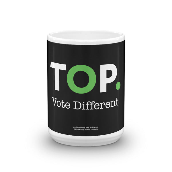 TOP #VOTEDIFFERENT Green – Mug