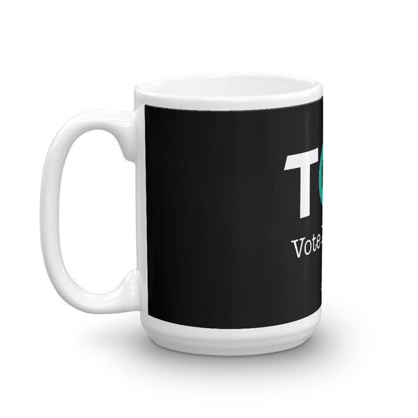 TOP #VOTEDIFFERENT Teal – Mug