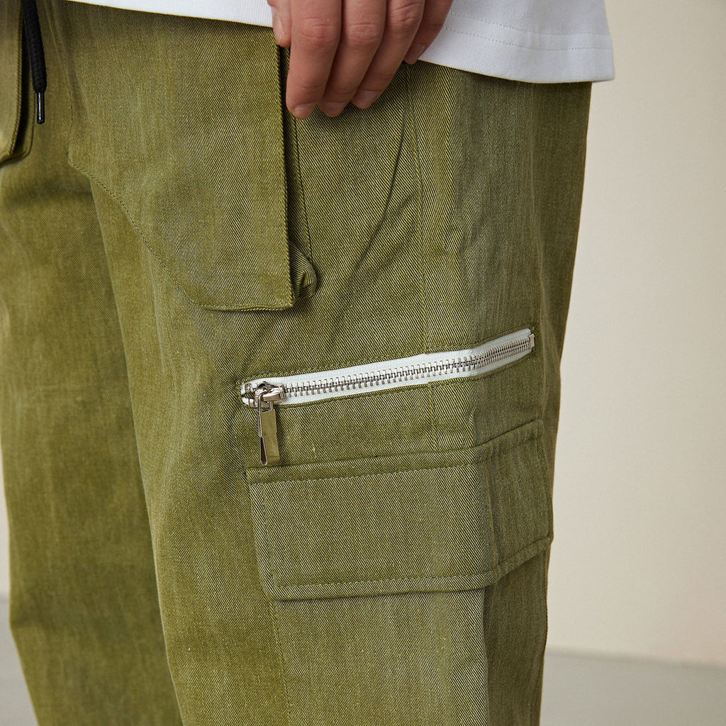 Conklab Multi-pockets Zipper Pants - PROJECTISR US