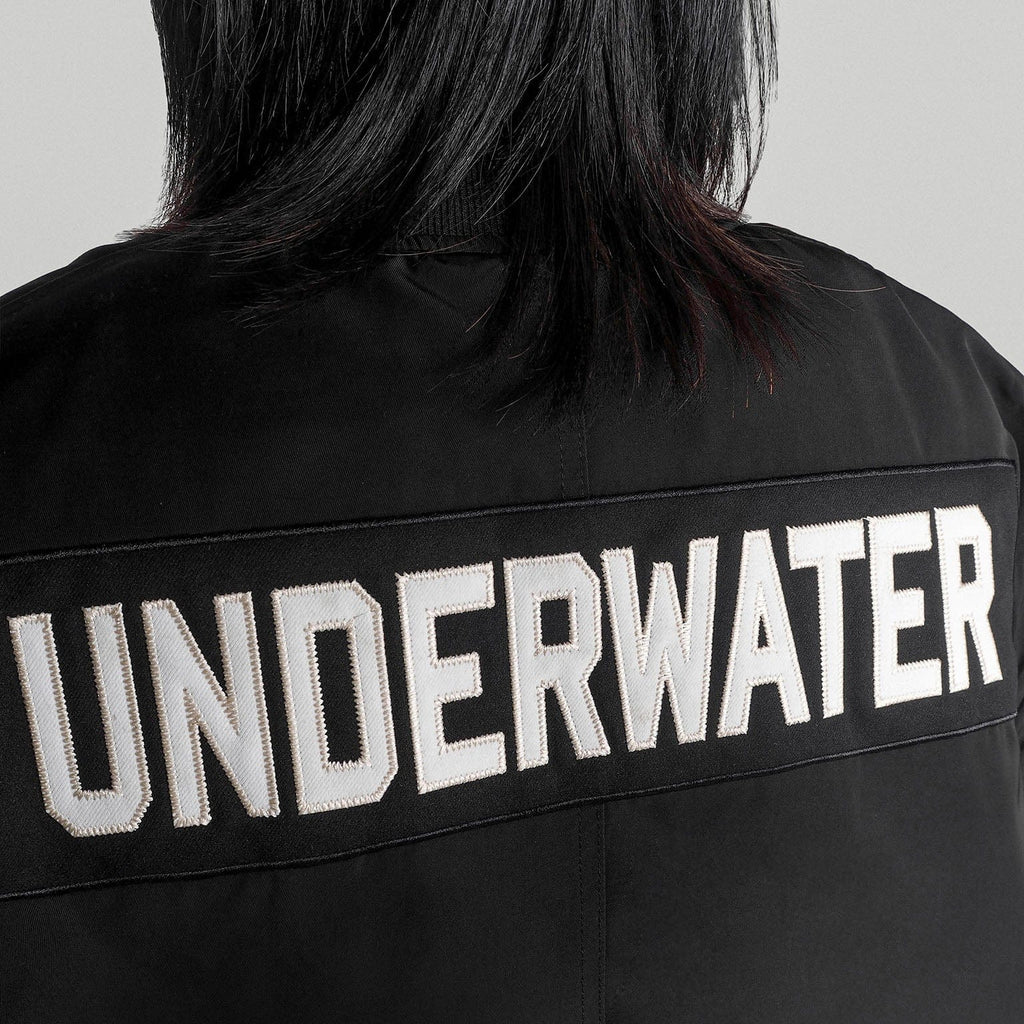 UNDERWATER MA1 Water-proof Bomber Jacket, asian fashion designer clothing, PROJECTISR, Jacket, UNDERWATER
