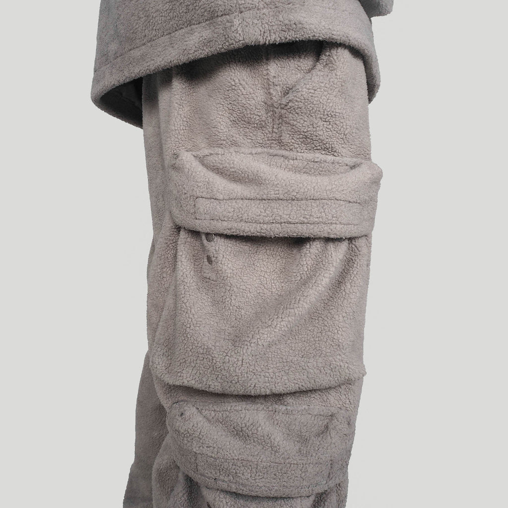 UNDERWATER Utility Fleece Pants, asian fashion designer clothing, PROJECTISR, Pants, UNDERWATER