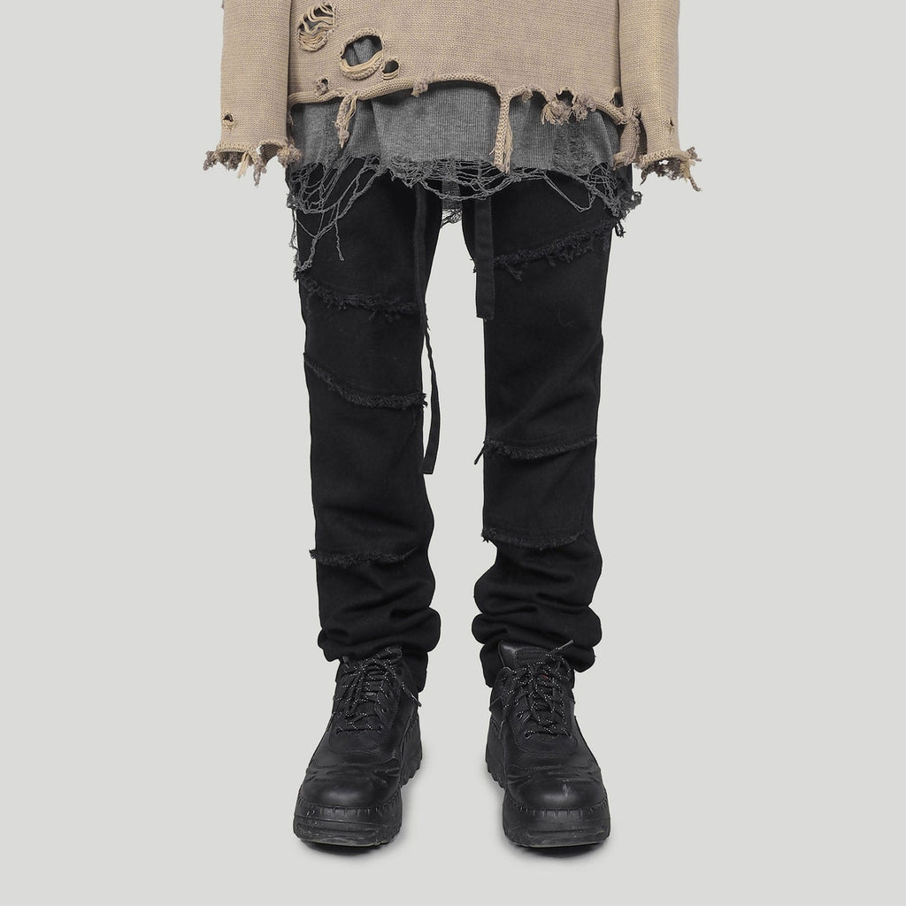 "UNDERWATER Waterwashed ""Dirty"" Jeans Black - PROJECTISR US"