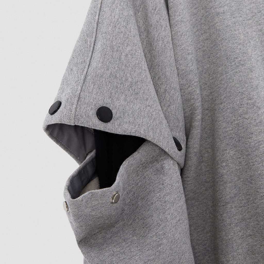 BONELESS Buttoned Sleeves Hoodie - PROJECTISR US