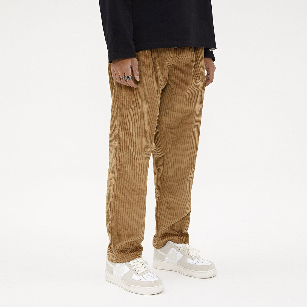 BONELESS Corduroy Classic Straight Pants - PROJECTISR US