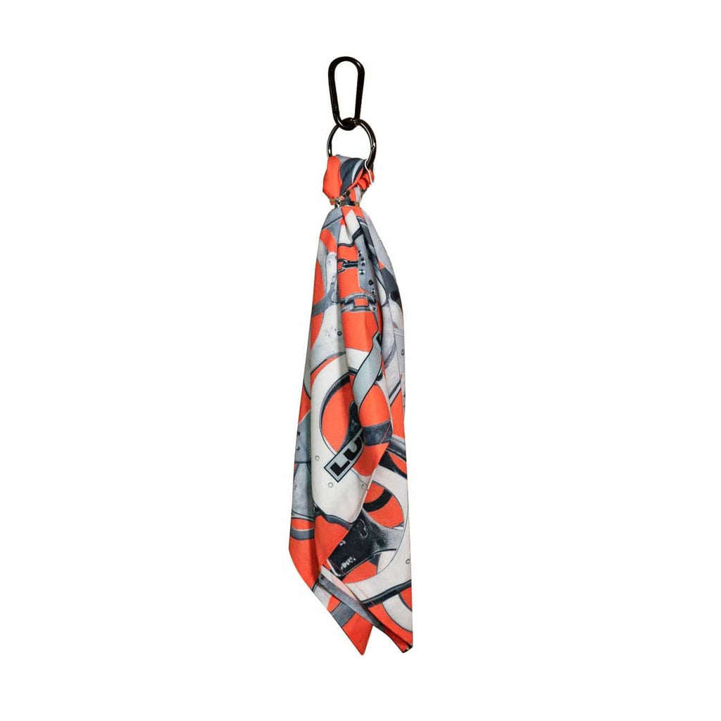 LURS Handcuff Bandana Keychain Red - PROJECTISR US