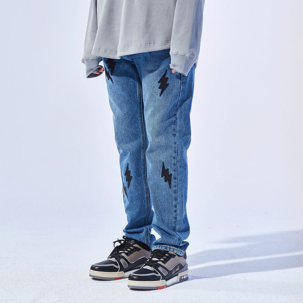Conklab Lightning Embroidery Jeans - PROJECTISR US