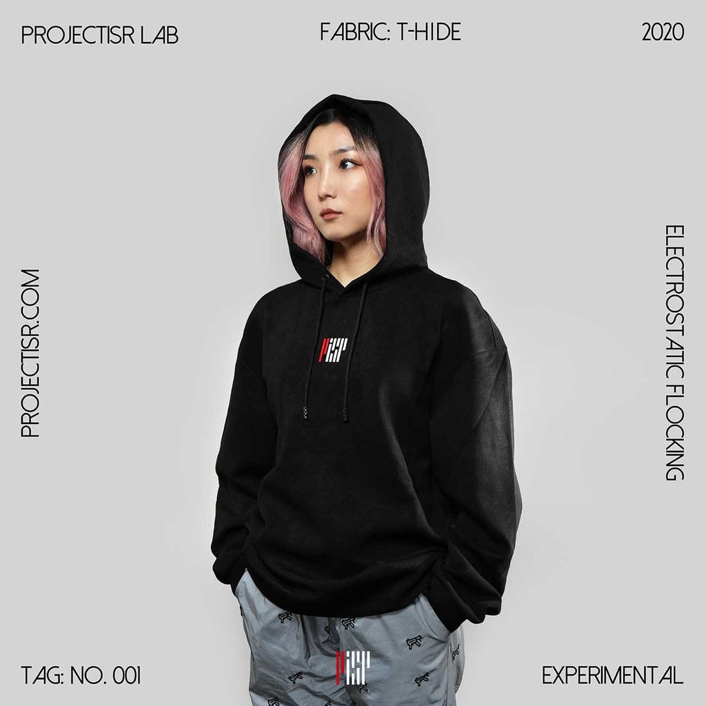 PROJECTISR Lab #001 Hoodie Black, asian fashion designer clothing, PROJECTISR, Hoodie, PROJECTISR US