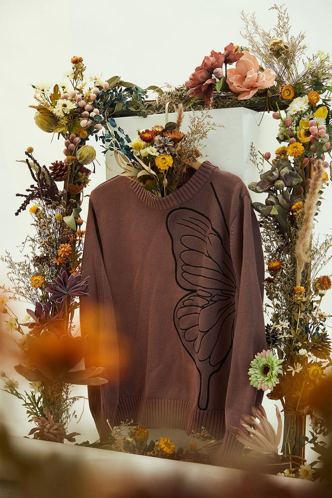 WINDERFLIES Butterfly Sweater - PROJECTISR US