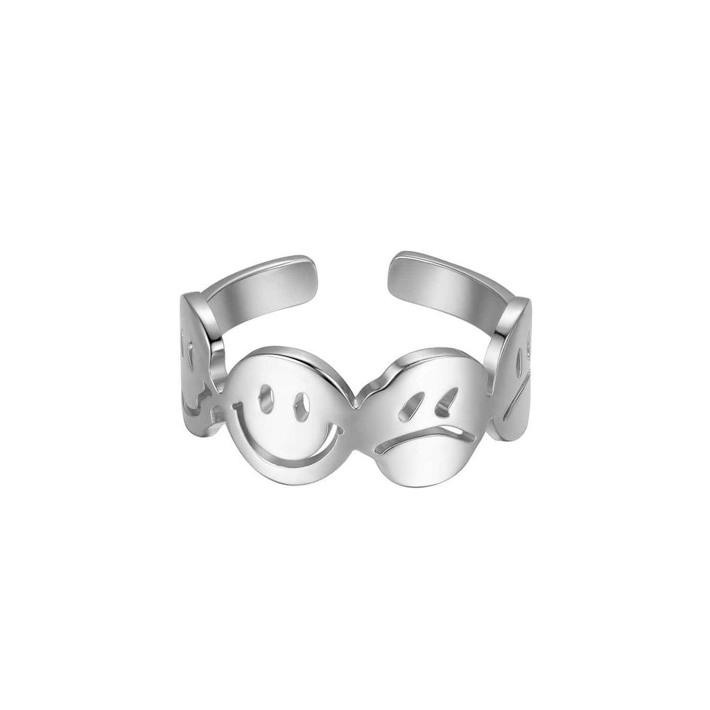LURS FOUR FACES Emoji Ring - PROJECTISR US