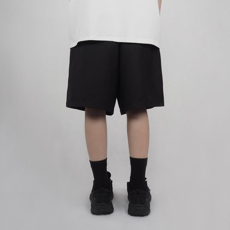 UNDERWATER Loose Suit Shorts, asian fashion designer clothing, PROJECTISR, Shorts, UNDERWATER