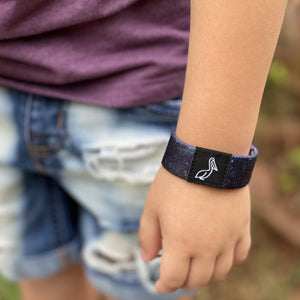 Galaxy elastic wristband for kids and adults