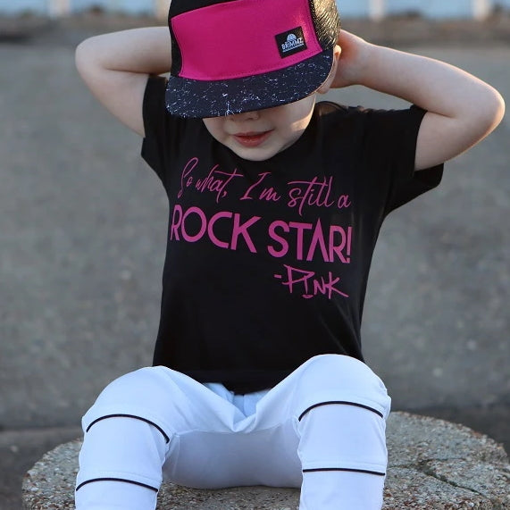 Black Short-Sleeve for Toddlers
