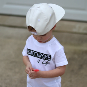 Graphic short-sleeve tee for toddlers