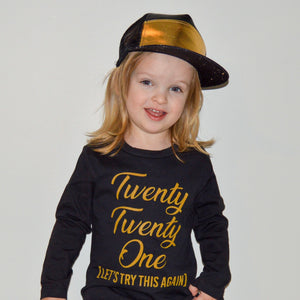 Twenty Twenty One Black T-Shirt