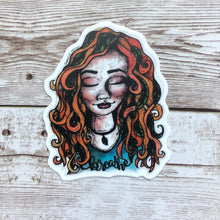 Load image into Gallery viewer, Breathe - Vinyl Sticker