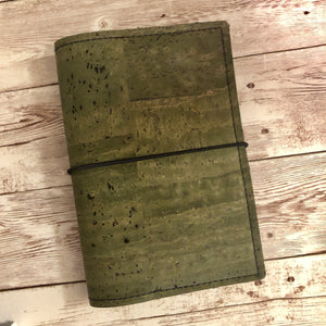 Avocado Travelers Notebook (TN)- Cork Cover