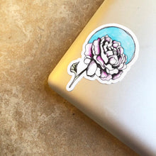 Load image into Gallery viewer, Yellow Tulip - Vinyl Sticker