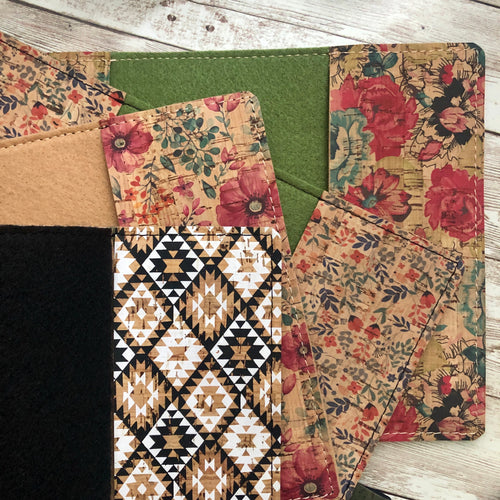 Pattern inside pockets - for Folio Cork Covers ONLY
