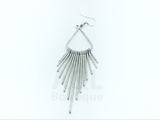 Dangling Pointed Lines Chandelier Earrings
