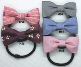 Handmade Bow Hair Ties