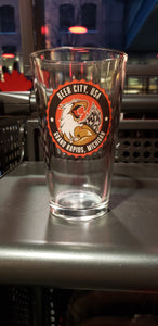 Beer City Pint Glass