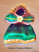 Jagannath Balabhadra Subhadra puja dress 8 inch idol-pic4