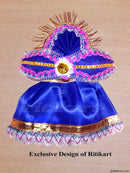 Jagannath Balabhadra Subhadra puja dress 6 inch idol