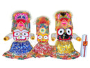 Jagannath Balabhadra Subhadra puja dress 1.5ft idol