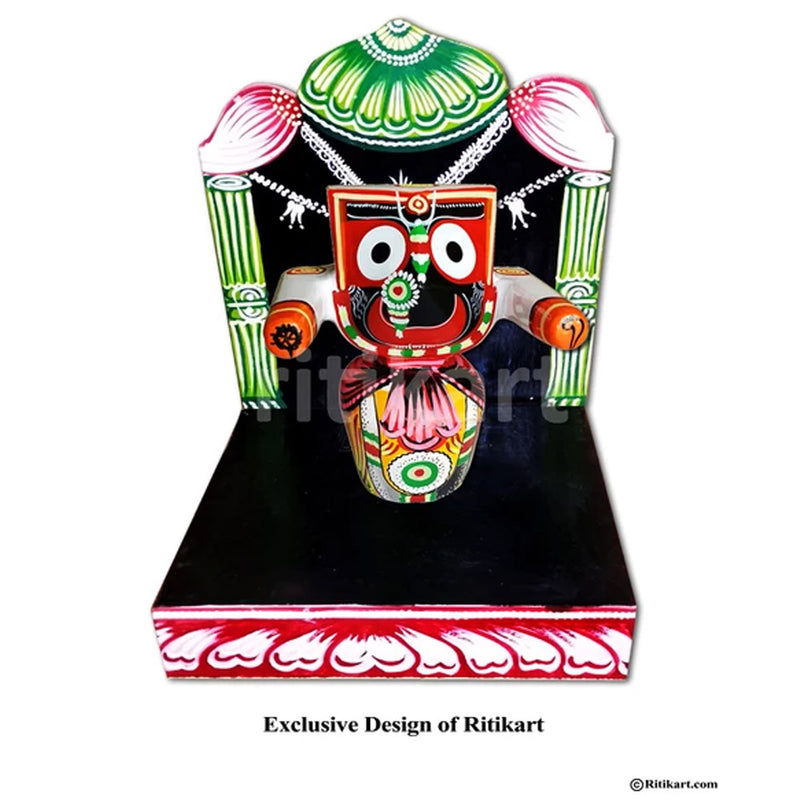 Prabha For Lord Jagannath Patitapaban 8 Inch idol pic-1