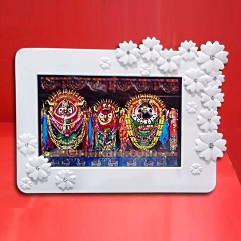 Prabhu Jagannath Balabhadra And Subhadra Photo Frame