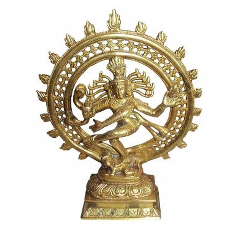 Brass Made Natraj Idol