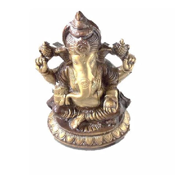 Brass Ganesh Idol from Balakati