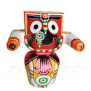 Jagannath Patitapaban  Wooden Idol 20 CMs High-pc1