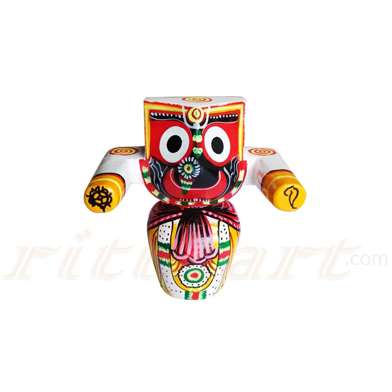 Jagannath Patitapaban  Wooden Idol 10 CMs High-pc1