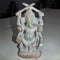 Dandi Ganesh Pink Stone Work Showpiece