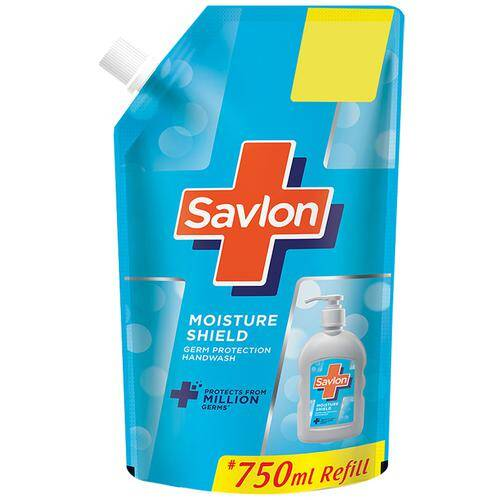 Savlon Moisture Shield Germ Protection Liquid Handwash - Refill Pouch