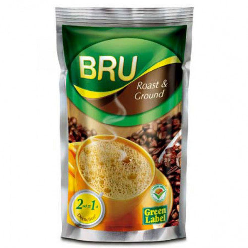 Bru Green Label - Roast and Ground Coffee