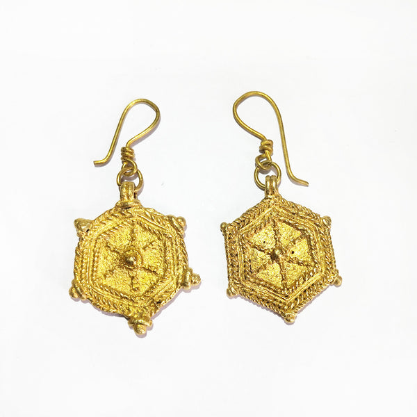 Tribal Jewelry - Six Corners Traditional Earrings Set