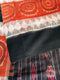 Black and Rust Color 7d Maniabandha Cotton Saree-pic2