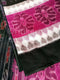 7D Black and Pink Color Maniabandha Cotton Saree Pic-2