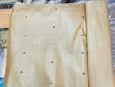Tussar Fine Silk Raw Golden Yellow Fabric p-1