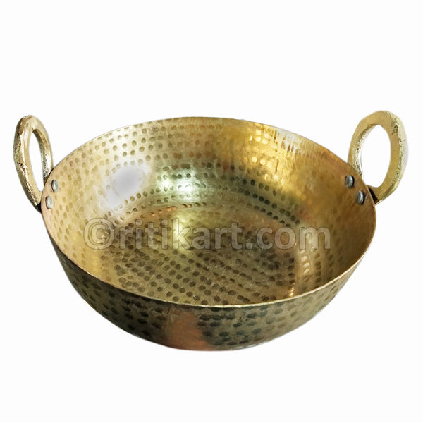 Balakati Pure Brass Cooking Kadhai