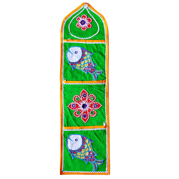 Pipili wall hanging letter holder Applique
