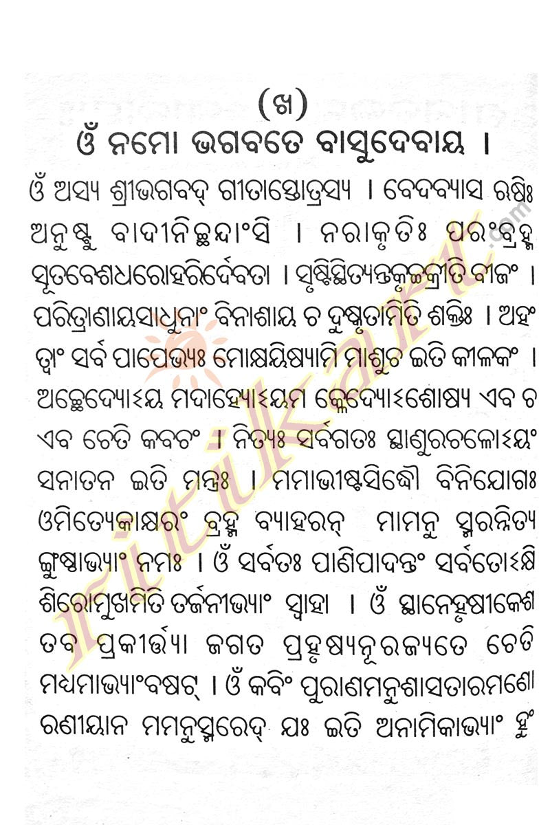 Shrimad Bhagavad Gita (Pocket Size) in Odia-pc4