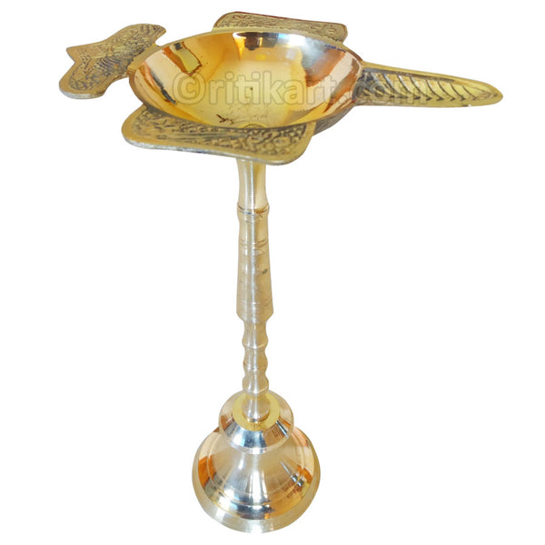 Brass Stand Diya from Balakati