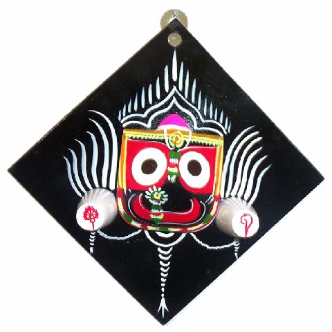 Wall Hanging wooden Jaganntah Idol