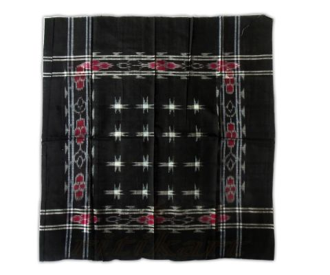 sambalpuri Black and 16 star Traditional rumal